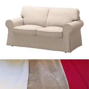 EKTORP 2-seat sofa /couch, 3 different Coloured Covers included Flagstaff Hill Morphett Vale Area Preview