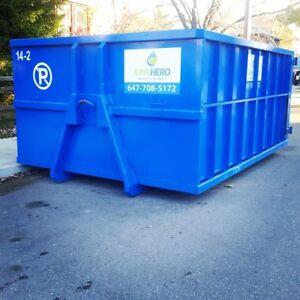 Cheap bin rental, disposal, junk removal, mini bin
