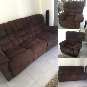 Recliner Lounge Suite Ipswich Ipswich City Preview