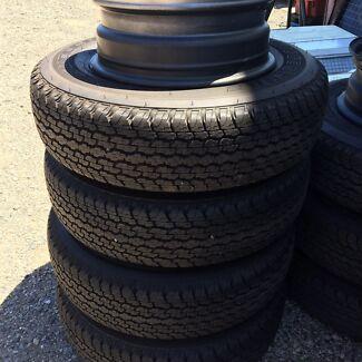 New Bridgestone dueller 205r16 tyres