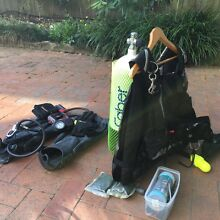 Complete Scuba Diving set up. Size Small Rockdale Rockdale Area Preview