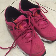 Runners pink asics size 7 US 81/2 Trinity Beach Cairns City Preview