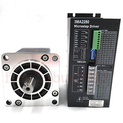 Nema42 20nm Stepper Motor 3phase Drive Kit Cnc Stepper Control Drive Ac80v-220v