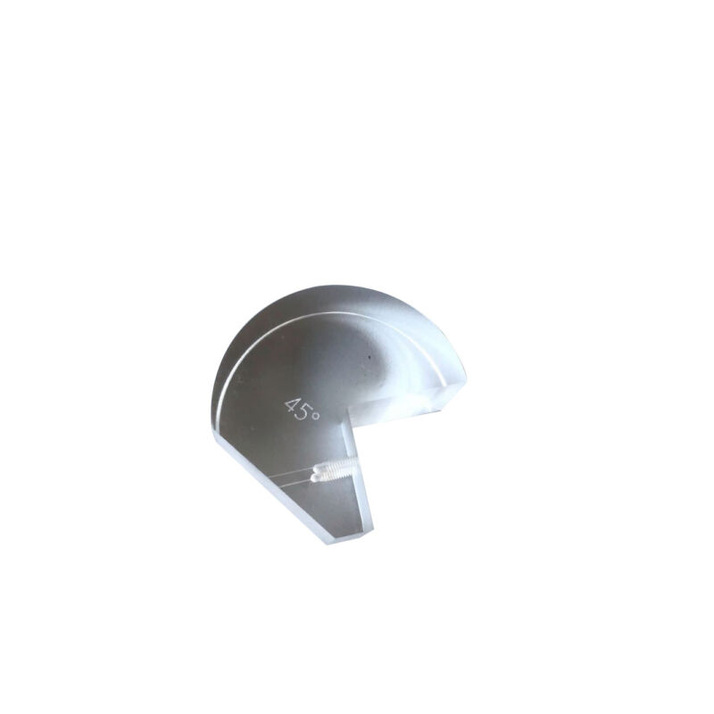 """AWS Snail Wedge 45 Degree for 5/8""""X3/4"""" 2.25MHz Angle Beam Transducer NDT Probe"""
