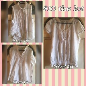 Ladies Tops size 16 $10 the lot Meadowbrook Logan Area Preview