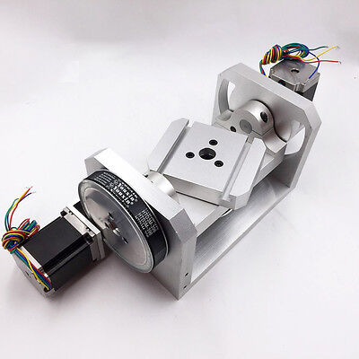 Cnc Dividing Head Rotary Table Axis 4th Axis 5th Axis 61 81 For Cnc Engraving