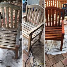 Outdoor timber furniture restoration and more Casula Liverpool Area Preview