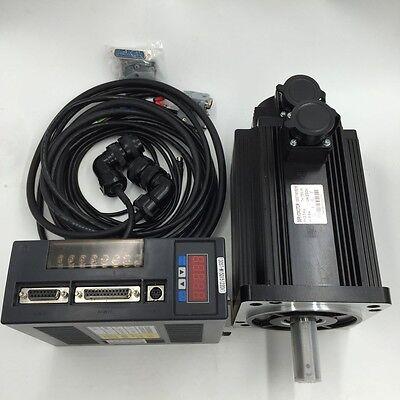 5nm 1.3kw Nema52 Ac Servo Motor Drive Kit 1300w 220v 2500rmin Cnc Machining