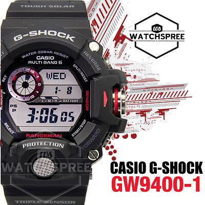 Casio G Shock Master Of G Rangeman Tough Solar Wave Ceptor Watch Gw9400 1D