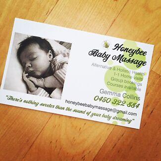Honeybee baby massage instructor