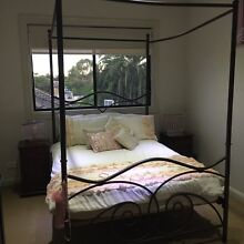 4 poster double bed including 5 pieces Greenacre Bankstown Area Preview