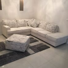 L shaped couch furniture Roxburgh Park Hume Area Preview