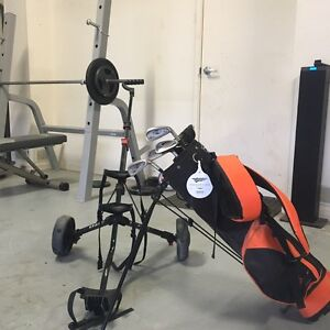 Williams junior golf set with trolley Currumbin Waters Gold Coast South Preview