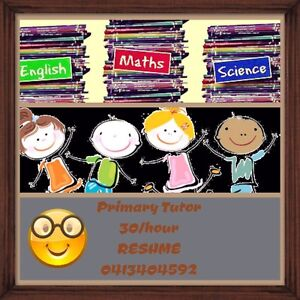 Primary School Tutoring - English, Maths & Science Queens Park Canning Area Preview