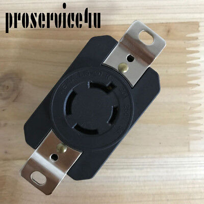 Nema L15-20 Locking Receptacle Twist Lock Outlet L15-20r 20a 250v