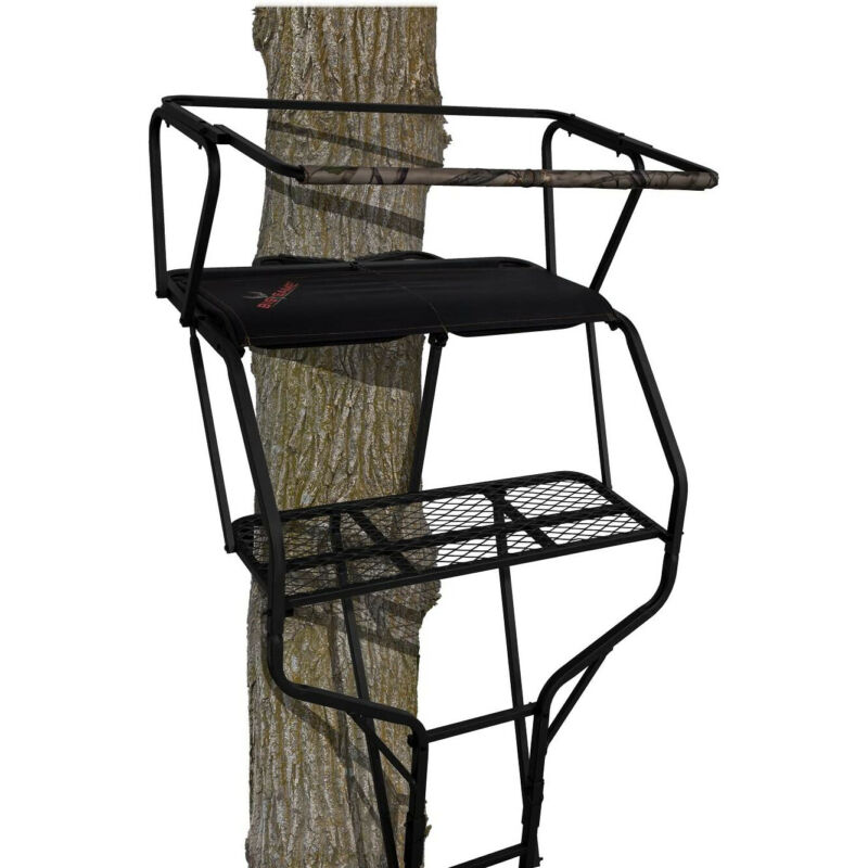 Big Game BGM-LS4860 Guardian XLT 18 Foot Hunting 2 Person Ladder Tree Stand