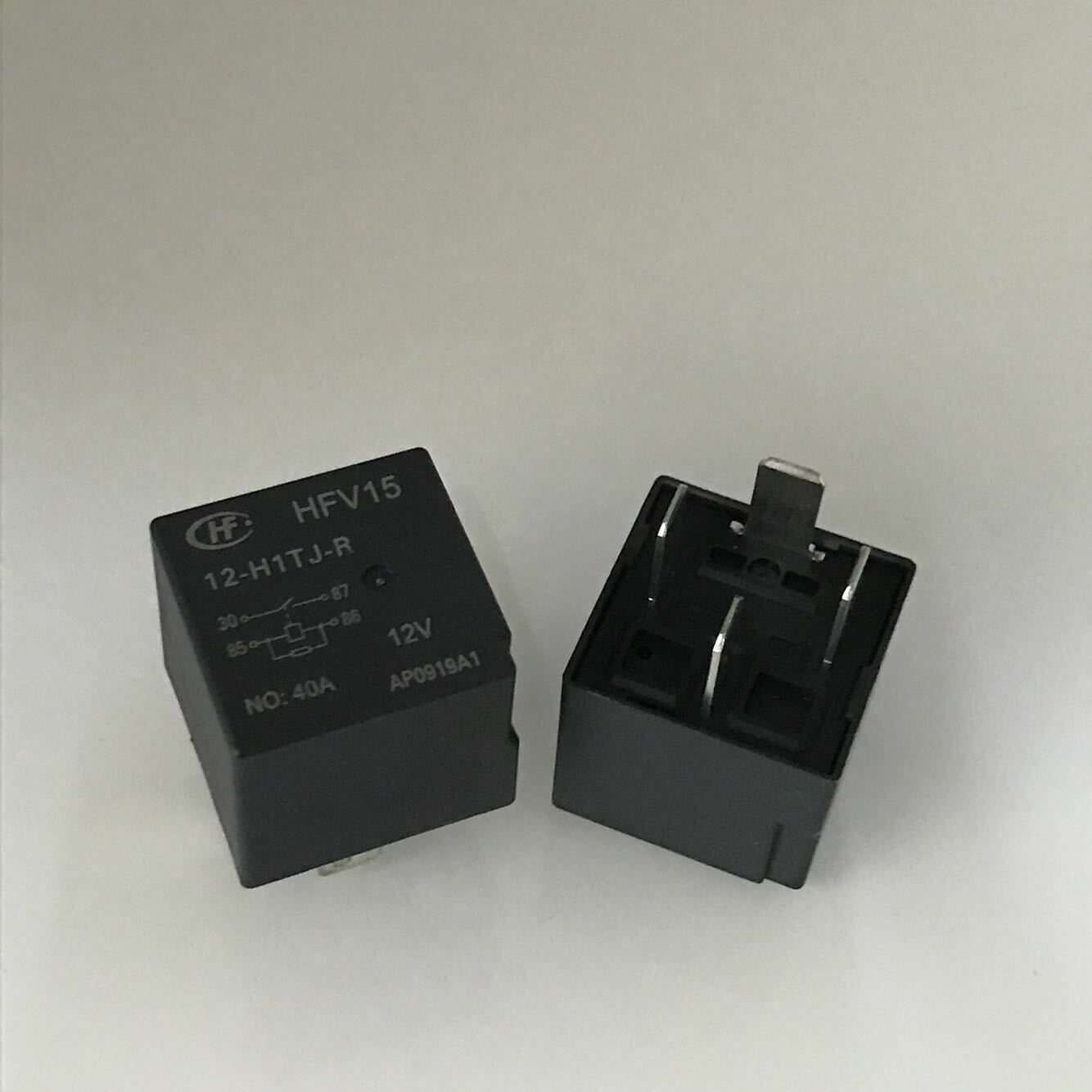 HFV4//012-1Z1G Quick Connect Terminal Automotive Relay 12VDC 40A x 2pcs