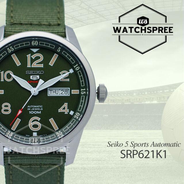 Seiko 5 Sports Automatic Watch SRP621K1