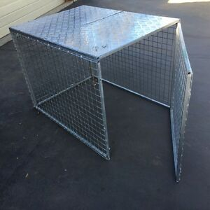 Dog cage ute Raby Campbelltown Area Preview