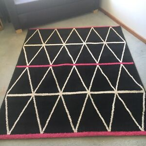 Black white and pink rug Joondalup Joondalup Area Preview
