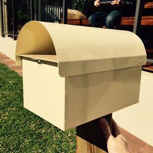 Cream letterbox Kensington South Perth Area Preview