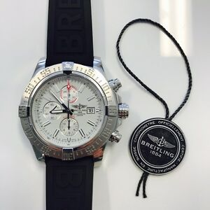 Breitling Super Avenger II - A1337111/G779, White Dial, 3 Straps Manning South Perth Area Preview