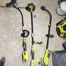 Ryobi 36V line trimmer/edger/battery & charger Stirling Stirling Area Preview