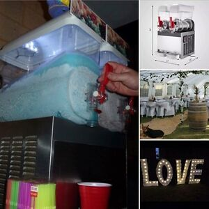 PARTY HIRE EVENT HIRE SLUSHY HIRE AND MORE!!! Canning Vale Canning Area Preview