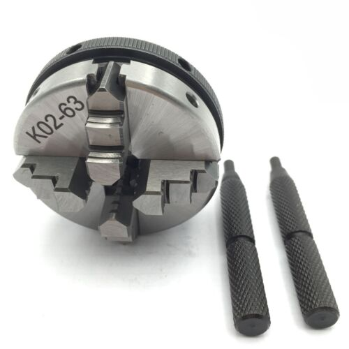 "Lathe Chuck 2.5"" inch 4 Jaw Self-Centering Mini for CNC Budd"