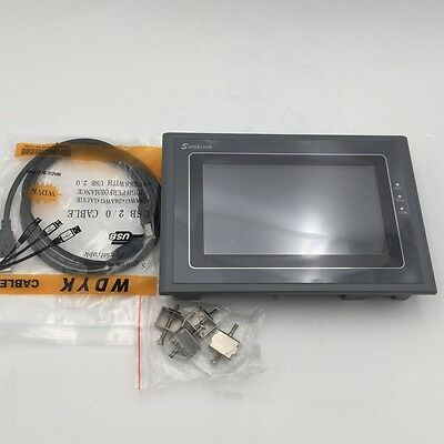 Hmi Touch Screen 7 Inch Operator Panel Programming Cable Software Samkoon