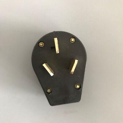 Nema 10-50p 125v250v 50a High Power Us Regulatory Triangle Plug Gas Generator