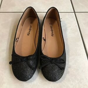 Girls Sparkly Black Shoes size 2 (NEW) Belmont Brisbane South East Preview