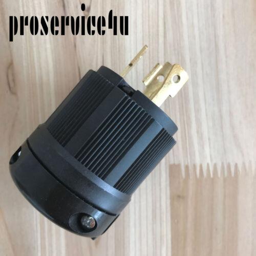 NEMA L5-30P Locking Plug, Rated for 30A, 125V L5-30 Plug Connector