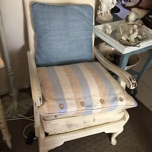 French provincial vintage shabby chic chair Ashmore Gold Coast City Preview