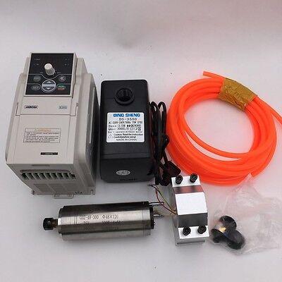 300w Spindle Motor Cnc Water Cooled Er81.5kw Vfd Inverter 60000rpm High Speed