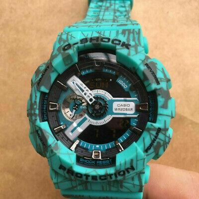 New Casio G-Shock GA110SL-3A Quartz Analog Digital Men's Watch