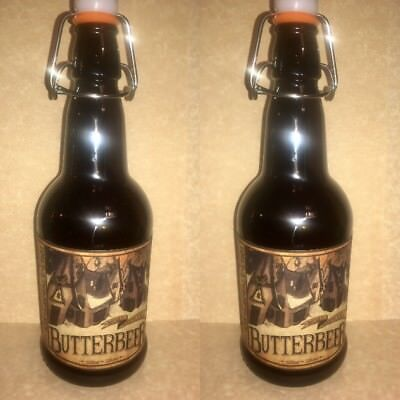LABELS ONLY LOT 12 FOR BUTTERBEER BOTTLES HARRY POTTER PARTY PROP - Halloween Labels For Bottles
