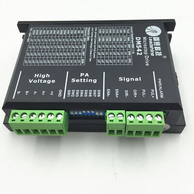 Leadshine Stepper Drive Driver Controller Dm542 2ph 2050vdc For Nema23 34 Motor