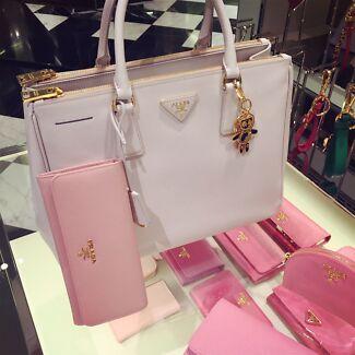 Prada Galleria Bag White