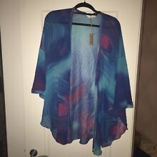 BNWT pure silk kimono - free size rrp$229 Edgecliff Eastern Suburbs Preview