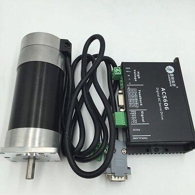 50w 90w 130w 180w Dc Servo Motor Driver Brushless 24v 36v3meter Cable Leadshine