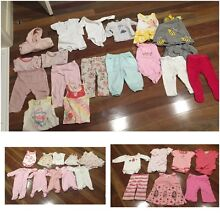 Bulk lot 36 baby girl clothing - target cotton on - newborn to size 0. Dingley Village Kingston Area Preview