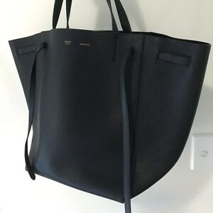 celine shopper tote - Celine Trio Large Black AUTHENTIC | Bags | Gumtree Australia ...