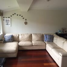 6 Seater lounge with Chaise Lane Cove Lane Cove Area Preview