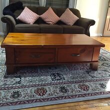 Coffee table - Solid Oak ( RRP $650) South Plympton Marion Area Preview