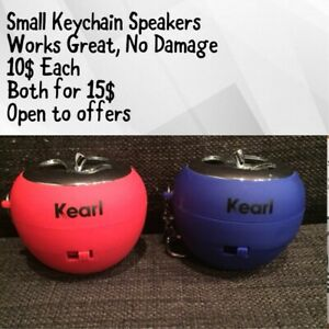 Keychain Speakers