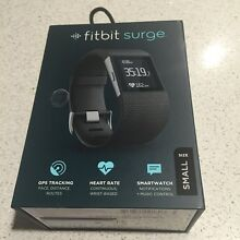 Fitbit Surge Small Black Perfect Condition with receipt and box!! Upper Coomera Gold Coast North Preview