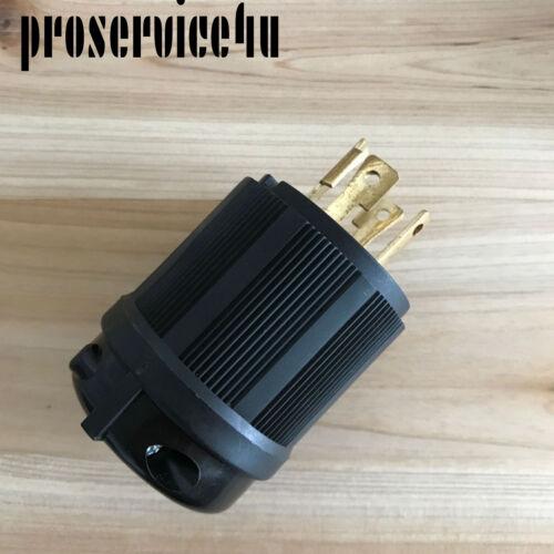 L1430P Locking Generator Plug 30A 125 250V L14-30P 30 AMP125 UL Approval Safety