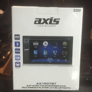 Axis 6.2 inch double din dvd/multimedia player / navigation Pearcedale Casey Area Preview