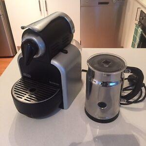 Nespresso machine (Delonghi) $40 Petersham Marrickville Area Preview